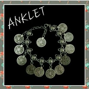 Jewelry - ANKLET/BRACELET BOHO COIN STYLE