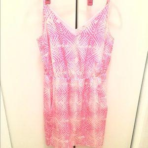 Amanda Uprichard Dresses & Skirts - Amanda Uprichard Neon Graphic Print Silk Dress