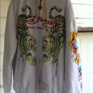 Ed hardy reversible jacket