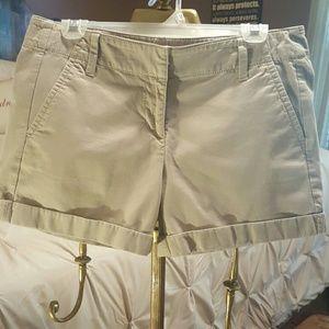 Pants - SHORTS  - ANN TAYLOR KHAKI!!