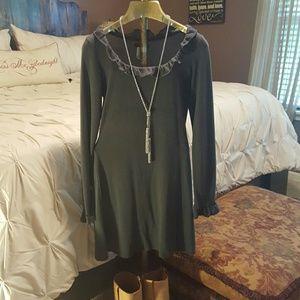 Dresses & Skirts - Sweater dress  (grey)