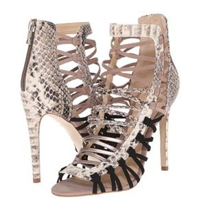 Steve Madden Shoes - Steve Madden Sleik Strappy Lace Up Stiletto Heels