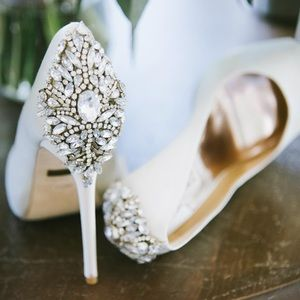 Badgley Mischka Wedding Shoe