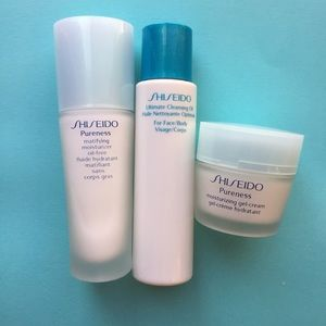 Sephora Other - Shiseido pureness cleansing oil and moisturizer