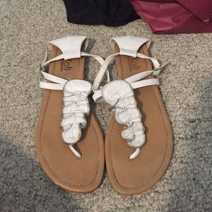 Kaii Shoes - White sandals