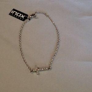 Inox stainless steel cross bracelet