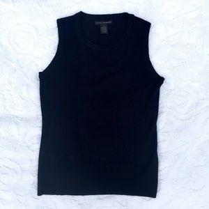 Grace Elements Tops - Black Crewneck Sweater Shell