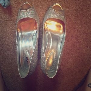 Sparkle high heels