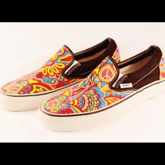 6f6ef504a382a1 Vans Shoes - Vans Hippie Classic Slip-On Men 6.5   Women s 7.5