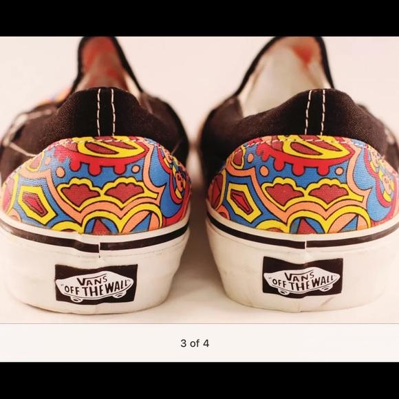 Furgonetas Mujeres De Los Zapatos Se Deslizan En 7,5