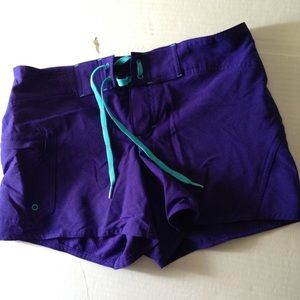 48 Off Athleta Pants Nwot Athleta 6 Quot Inseam Board Swim