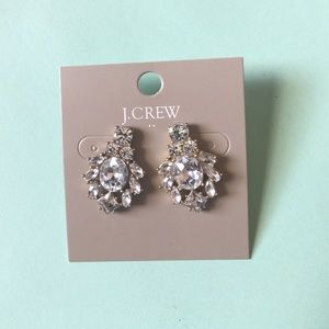 J.crew Crystal Cluster Earrings