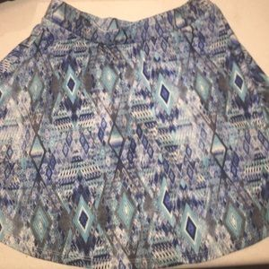 wet seal Aztec skirt