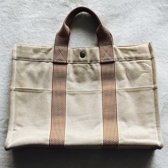 0f6539a134e4 Hermes Handbags - Authentic Hermes Fourre Tout Tote