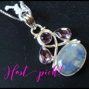 🌟HP🌟Genuine Moonstone Necklace