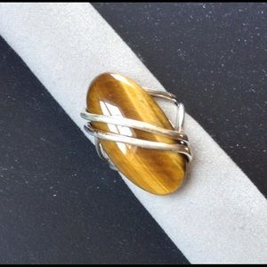 🌟 New Listing🌟  Tiger's Eye Ring NWOT