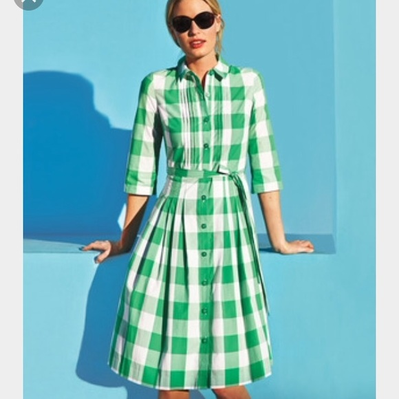 9f50c429c7 Boden Dresses   Skirts - Boden Gingham Shirt Dress 8