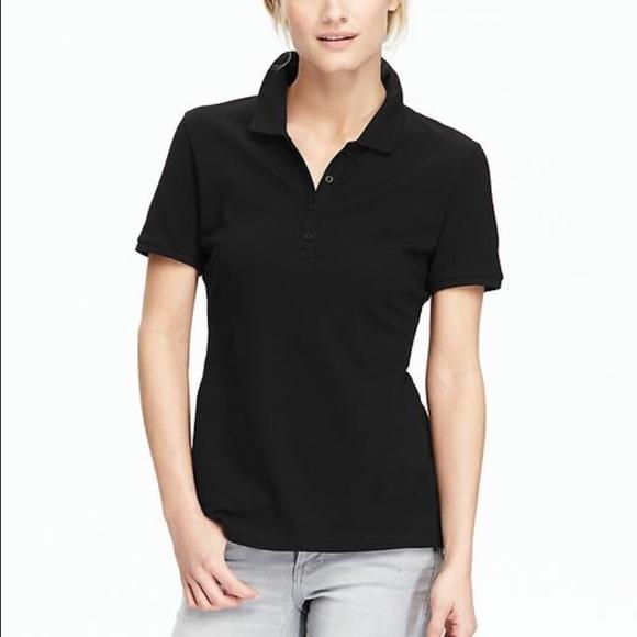 Women's Polo shirt in black