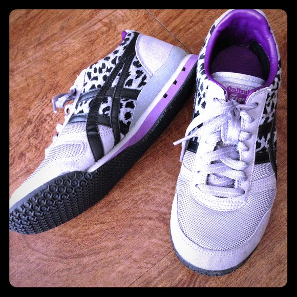 separation shoes 20dc0 cee0b Gray & Purple Vegan Onitsuka Tiger Sneakers