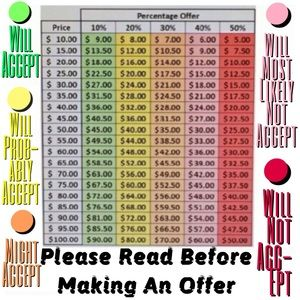 PLZ READ BEFORE MAKING OFFER OR TRADE