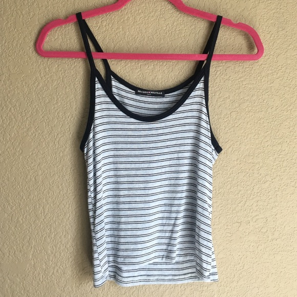 Brandy Melville Tops - Brandy Melville striped tank top small