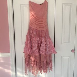 Ariella Dresses & Skirts - Ariella Pink Ruffled Dress