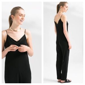 NWT Mango black jumpsuit