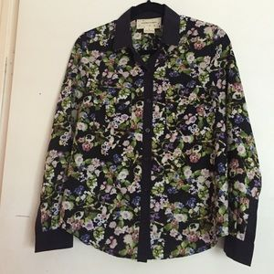 UO floral blouse