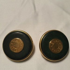 Authentic Hermes Clip On Earrings!