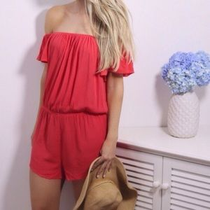 Boutique Pants - BACK IN! 🆕Coral Romper