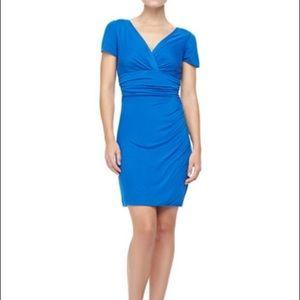 SaleNWT DVF Chelsea dress in dark lapis blue