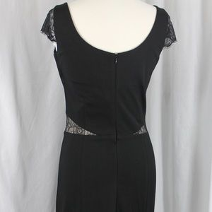 Erin Fetherston black/black dress