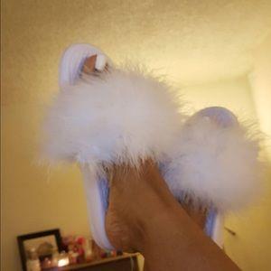 c51405044c79 CHANEL Shoes - Furry flip flop TRENDING SHOEs
