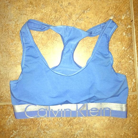 37d7c8bc7a Calvin Klein Other - Baby blue Calvin Klein bra