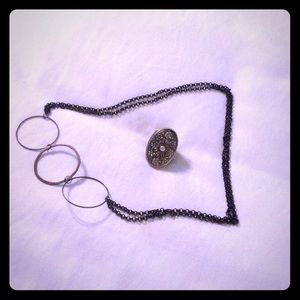 Necklace and ring bundle