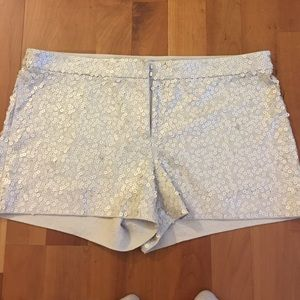 🌟SOLD🌟Express sequence shorts. 6