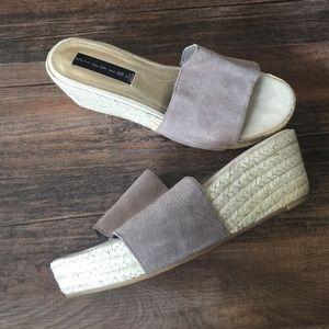 Steven by Steve Madden Shoes - 🎉HP 🎉Steven Espadrille Wedge Slides