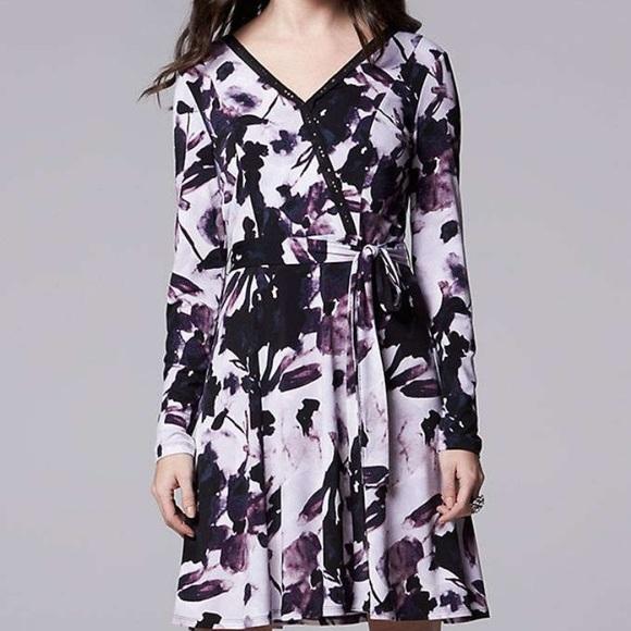 70fb013fb1e3f Simply Vera Vera Wang Dresses   Womens Simply Vera Wang Long Sleeve ...
