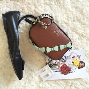 ☀️ NWT Kate Spade Saturday crossbody cognac bag