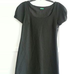 United Colors of Benetton Black Tunic Dress