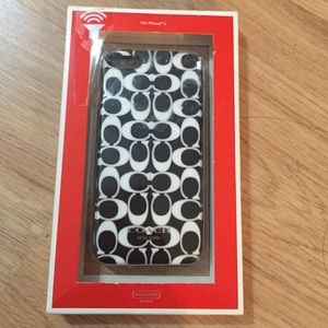 NWT Coach iPhone 5 Case