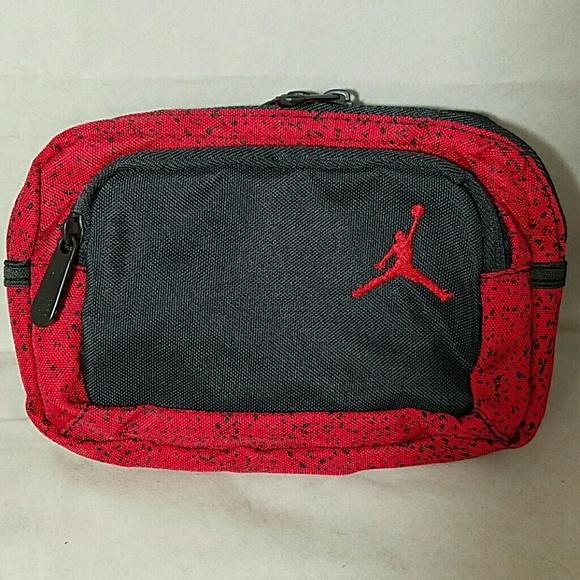 17f14785ffd NIKE Air Jordan Red Splattered Fanny Waist Pack. M_577f1916f0137d979400d2d3