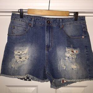 Cutoff 🇺🇸 Jean shorts - new w/ tags