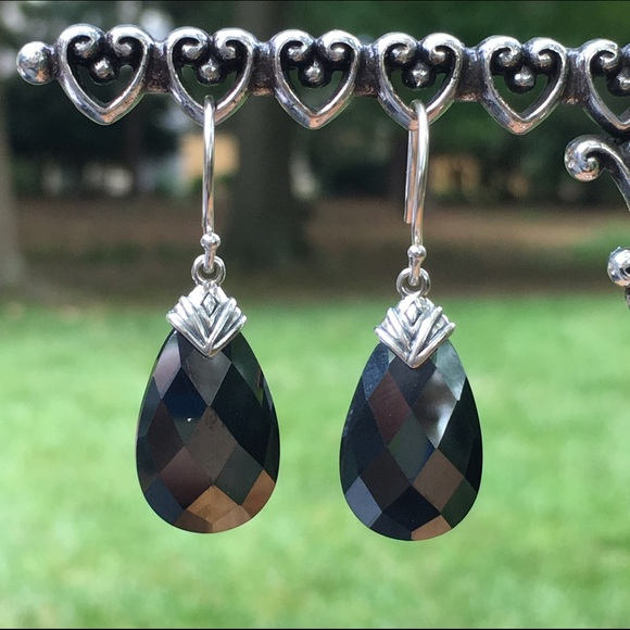 Ebony earrings