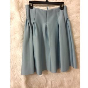 1. State pleated retro skirt baby blue cute
