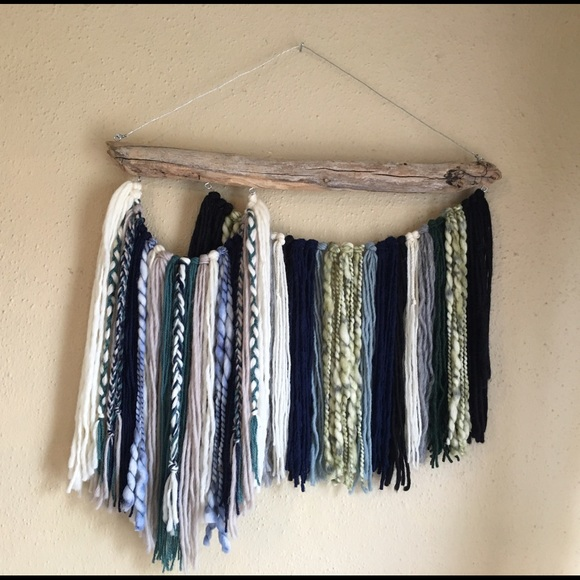 Driftwood Wall Hanging 20% off free people accessories - blue lagoon driftwood wall