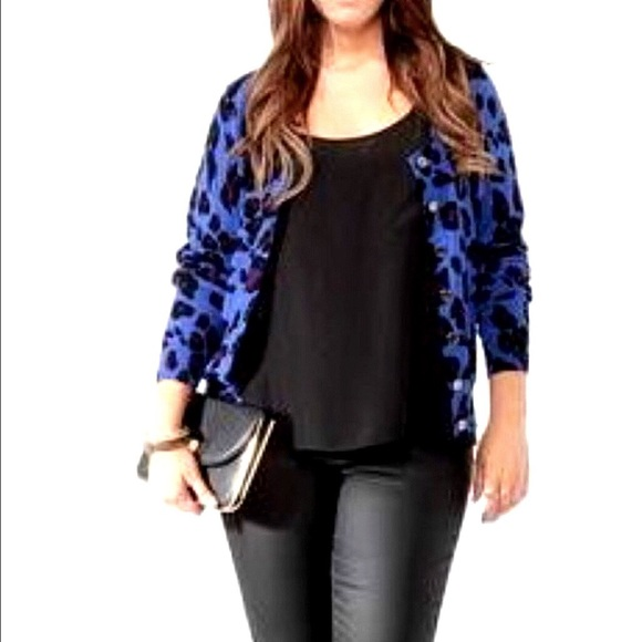 Forever 21 - Forever 21   Purple Leopard Print Cardigan from ...