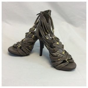 Anne Michelle Shoes - ANNE MICHELLE STRAPY HEELS