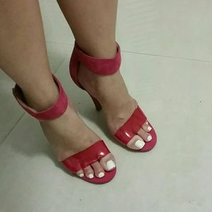 ea6453a9bbc Jeffrey Campbell Hot Pink Heels sz 6
