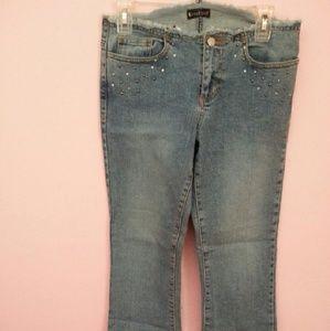 Bebe blue jeans pants size 28
